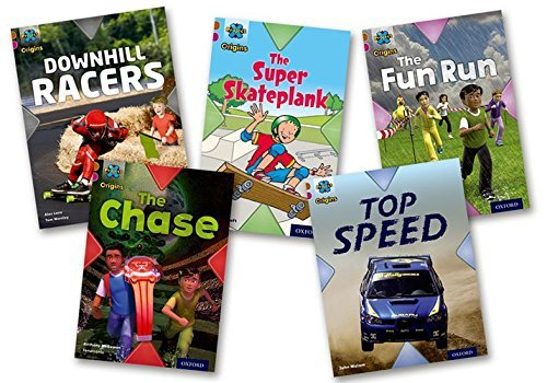 Project X Origins: Brown Book Band, Oxford Level 10: Fast and Furious: Mixed Pack of 5 by Anthony McGowan (2014-01-09)