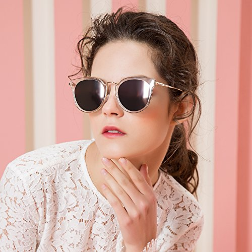 NHDZ Monalisa Sunglasses, Women'S New Fashion Trend, Anti Uv Sunglasses, Simple Leisure Sunglasses, Driver'S Mirror, Transparent Mercury.