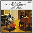 J.S.BACH:SONATA FOR CELLO AND CEMBALO(complete)