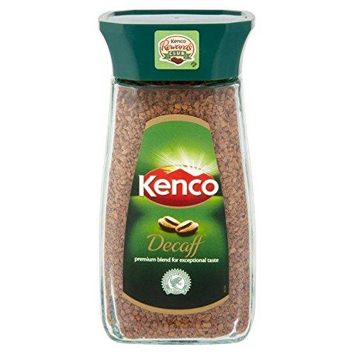 Kenco - Café décaféiné soluble - lot de 4 pots de 100 g