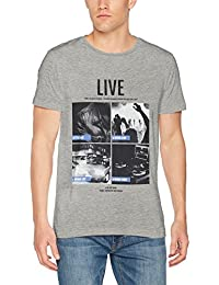 TOM TAILOR Denim Herren T-Shirt Photo Print Crew