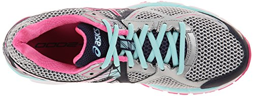 Asics GT-2000 3 Synthétique Chaussure de Course Lightning-Hot Pink-Navy