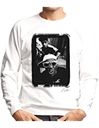 Lawrence Watson Official Photography - Public Enemy Flavor Flav Sunglasses Men's Sweatshirt