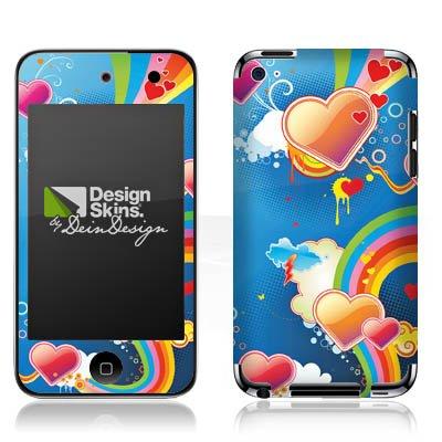 Apple iPod Touch 4. Generation Folie Skin Aufkleber Schutzfolie DesignSkin - Crazy Heartland - Heartland-zubehör
