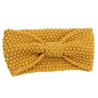Amcool Mode Winter Warme Frauen Gestrickte Wollmütze Kappe Stirnband Haarband