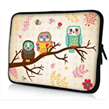 "Colorfulbags Cute Owl Design Girls Boys New 11.6"" 12"" 12.1"" inch scratch-proof Laptop Notebook Soft Sleeve Case Bag Pouch Cover For HP Envy x2 11.6"",HP Pavilion dm1 Samsung ATIV XE500T1C XE700T1C / Acer Aspire One,Apple Macbook Air ASUS VivoBook X202E Dell TOSHIBA IBM Lenovo ThinkPad X220 X220i Hot PS12-200, [Importado de UK]"