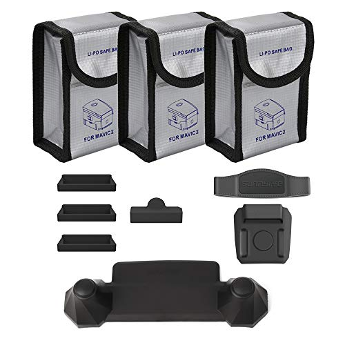 O'woda Combo Accesorios: Bolsas ignífugas batería