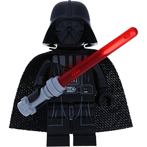 LEGO Star Wars Minifigur Darth Vader (aus Set 75183) mit GALAXYARMS Waffe
