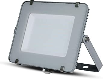 V Tac Vt 150 150w Led A Grey Floodlight 150 W Led Grey Led A White Beleuchtung