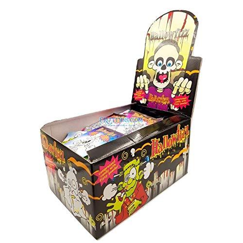 Hallofizz - Dip & Lick Halloween - Komprimierte Süßigkeiten mit Kohlensäure Pulver - JL - 100 Einheiten