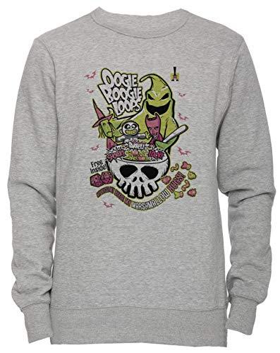 nisex Herren Damen Jumper Sweatshirt Pullover Grau Größe S Men's Women's Jumper Grey Small Size S ()