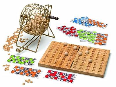 Cayro - Bingo Madera Y Metal Con Cartones 30X28X7 150-635 de Cayro