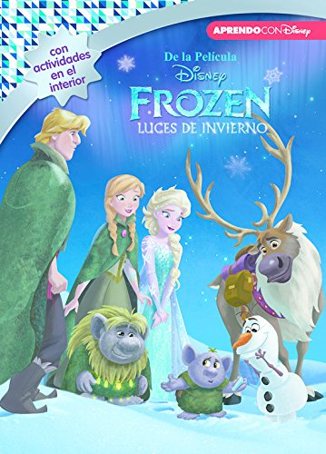 Frozen. Luces de invierno (Leo, juego y aprendo con Disney) por Disney