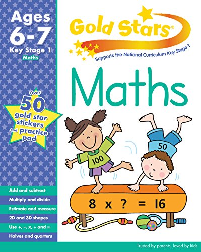 Gold Stars KS1 Maths Workbook Age 6-7 (Gold Stars Workbook Packs)
