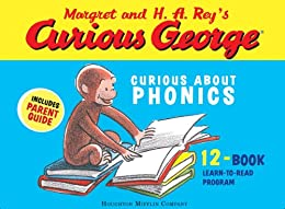 Curious George Curious About Phonics 12 Book Set by [Rey, H. A.]
