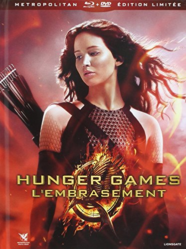 Hunger Games 2 : L'embrasement Combo 3 Blu-Ray + 2 DVD Edition Limitée