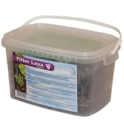 VijverTechniek (VT) Masse filtrante en pierre de lave 5 000 ml