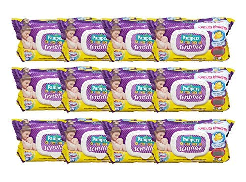 Pampers progressi sensitive 63 salv (con plaquette) 12 pack (tot 756 salv)