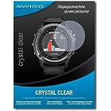"""4 x SWIDO protecteur d'écran Garmin fenix 3 Saphir HR film protecteur feuille """"CrystalClear"""" invisible"""