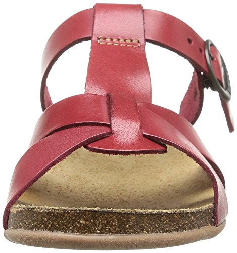 Kickers Anabo, Sandales femme Rouge