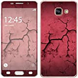 Royal Sticker RS.127783 Autocollant pour Samsung Galaxy A3 2016 Motif Fissures Rouge