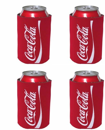 kolder-coca-cola-can-koosie-4-pack-red