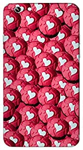 Rebel Multicolor Heart Ball printed protective back cover for iPhone - 6 Plus