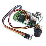 DC Motor Controller Motor Drehzahlregelung 6 V-60 V 30A Variable Geschwindigkeit Motor Controller Treibersteuerung Mit Digitalanzeige