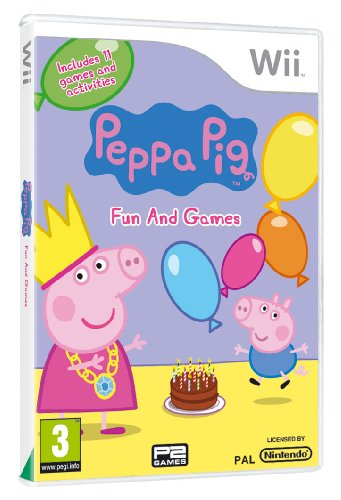 Price comparison product image Peppa Pig: Fun and Games (Wii)