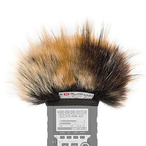 Gutmann Microfono protezione antivento pelo per Zoom H1 / H1n modello speciale limitato TIGER