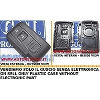 G.M. Production - TOY SM1 - Chiave Scocca Guscio Cover Key TOYOTA Senza Logo versione SMART CARD [controllare foto e dettagli compatibilità]