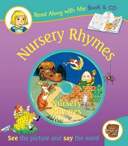 Nursery Rhymes (Read Along with Me Book and CD) by Anna Award (2013-01-25)