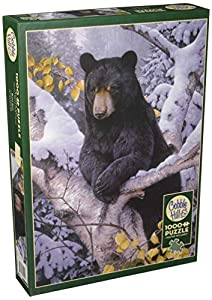 Cobblehill 80099 - Puzzle de 1000 Piezas, Color Negro