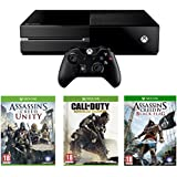Xbox One Console with Assassin's Creed Unity, Black Flag and Call of Duty: Advanced Warfare
