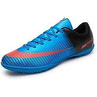 Asvert Chaussures de Football Homme Adolescent Antidérapant Respirant Professionnel
