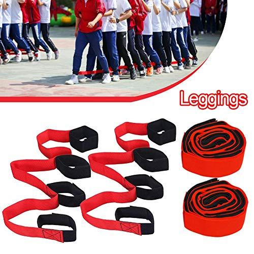 Class-Z Legged 4 Legged Race Bands Outdoor-Spiel für Kinder Erwachsene Geburtstag Team Party Games