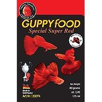 Comida para peces guppy color rojo- Guppyfood Super Red Special 80g