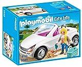 Playmobil Mansión Moderna de Lujo - Descapotable con mujer y...