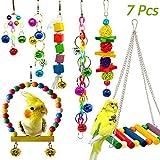 7 Stück Bunten Vogelspielzeug