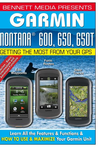 Garmin Montana 600, 650, 650T Garmin Video-training, Gps