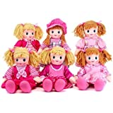 Rag Doll Traditional Girls Toy Soft Gift Plush Posh 50cm Cuddle Xmas New Dolls