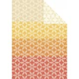Ibena Bio-Wohndecke Baumwolle orange/gelb Größe 140x200 cm