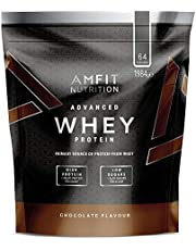 Amfit Nutrition Advanced Whey Protein Powder - 64 Servings (Chocolate)
