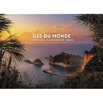 L'agenda-calendrier Iles du Monde 2020