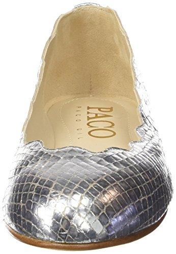 Paco Gil P2934, Ballerines fermées femme Argent - Argenté