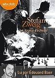 Le joueur d'échecs (cc) Audio livre 2CD AUDIO - Audiolib - 13/10/2010