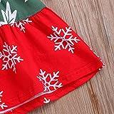 Fenverk 1Pc Kleinkind Baby Lange äRmel Fawn Print Minikleid Weihnachten Stirnband Outfits Kleider MäDchen Bowknot Graben Prinzessin Outwear Süß Passen 0-4 Jahre(Weiß,2-3 Jahre) Vergleich