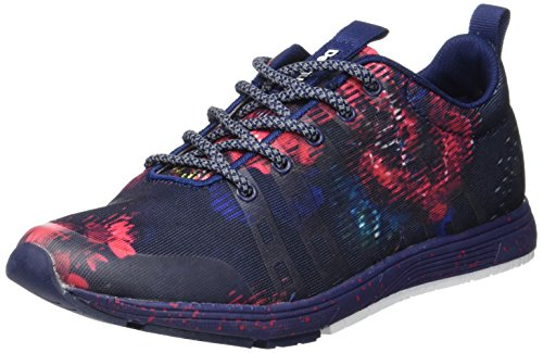 Desigual Damen Shoes_Training SHO, 40, 5149 Blue Depths Hallenschuhe, Blau, 40 EU