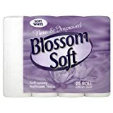Blossom Soft-Luxus Toilettenpapier 24 Rollen