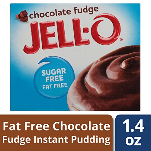 Jell-O Chocolate Fudge, Sugar-Free Instant Pudding & Pie Filling, 1.4 oz by Jell-O
